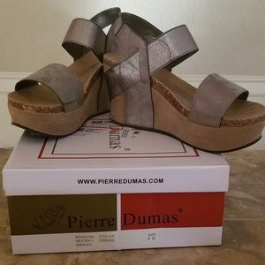 Silver Pierre Dumas wedge